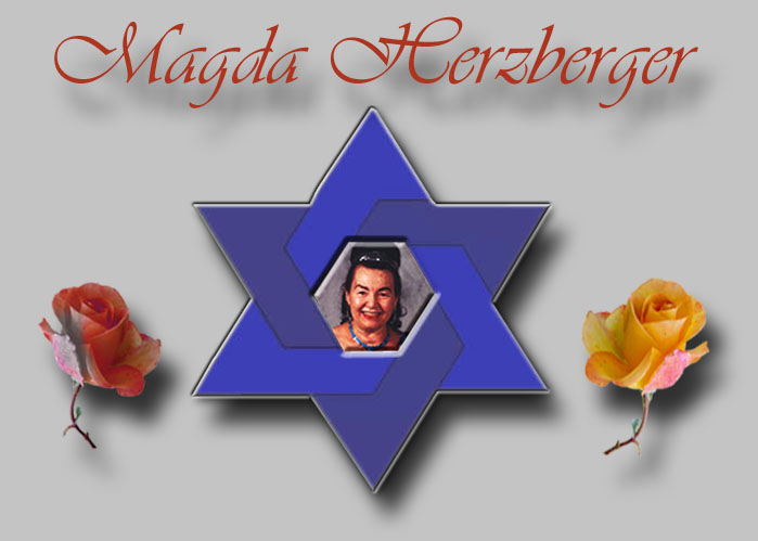 Magda Herzberger - Holocaust survivor, writer and poet